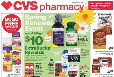 CVS Pharmacy Weekly Ad Flyer April 11 to April 17