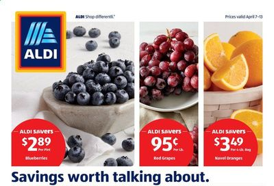 ALDI (VA) Weekly Ad Flyer April 7 to April 13