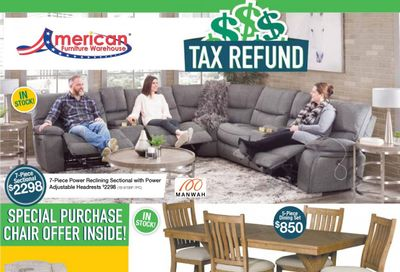 American Furniture Warehouse Weekly Ad Flyer April 11 to April 17