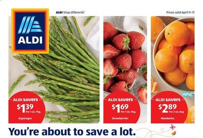 ALDI (PA) Weekly Ad Flyer April 11 to April 17