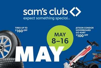 Sam's Club Weekly Ad Flyer May 8 to May 16