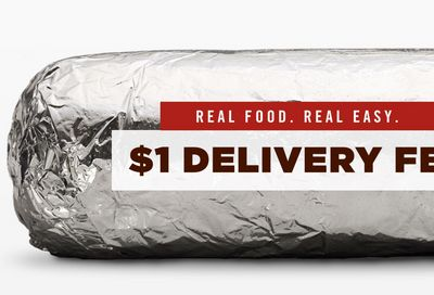 Chipotle's $1 Delivery Deal!