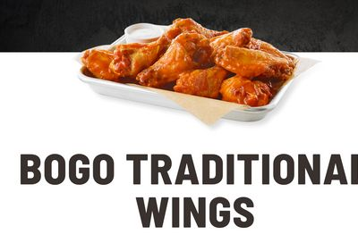 Buffalo Wild Wings Buy One Get One Free Wings Deal!