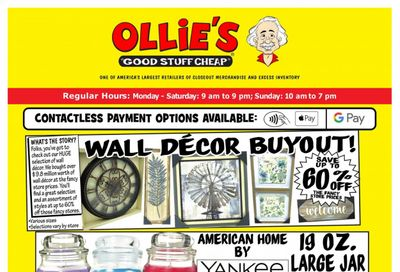 Ollie's Bargain Outlet Weekly Ad Flyer May 6 to May 12