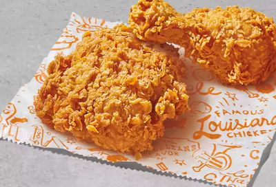 Popeyes FIRST ORDER SPECIAL FREE 2PCS SIGNATURE CHICKEN with MIN. $10 ORDER!