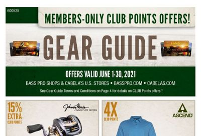 Cabela's Weekly Ad Flyer June 1 to June 30