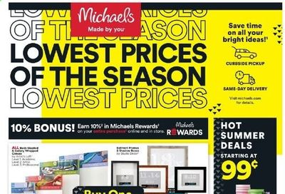 Michaels Weekly Ad Flyer June 13 to June 19