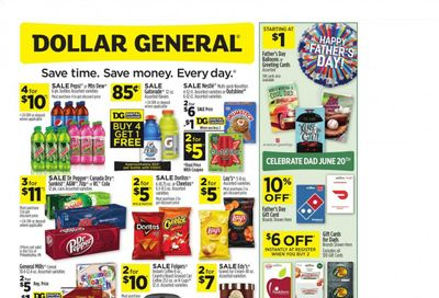 Dollar General (CT, GA, IL, IN, NJ, NY, VA, WI) Weekly Ad Flyer June 13 to June 19