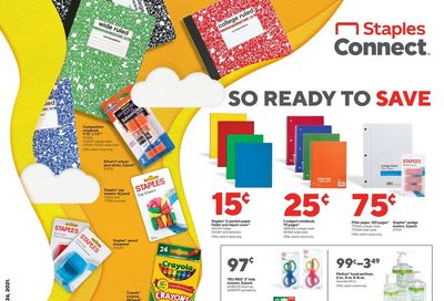 Staples Weekly Ad Flyer June 20 to June 26