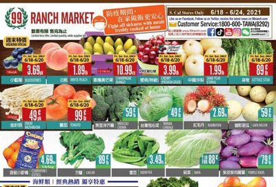99 Ranch Market (CA) Weekly Ad Flyer June 18 to June 24