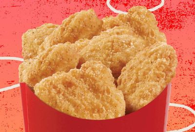 Get a Free 6 Piece Order of Chicken Nuggs with Any In-App Purchase at Wendy's this Summer