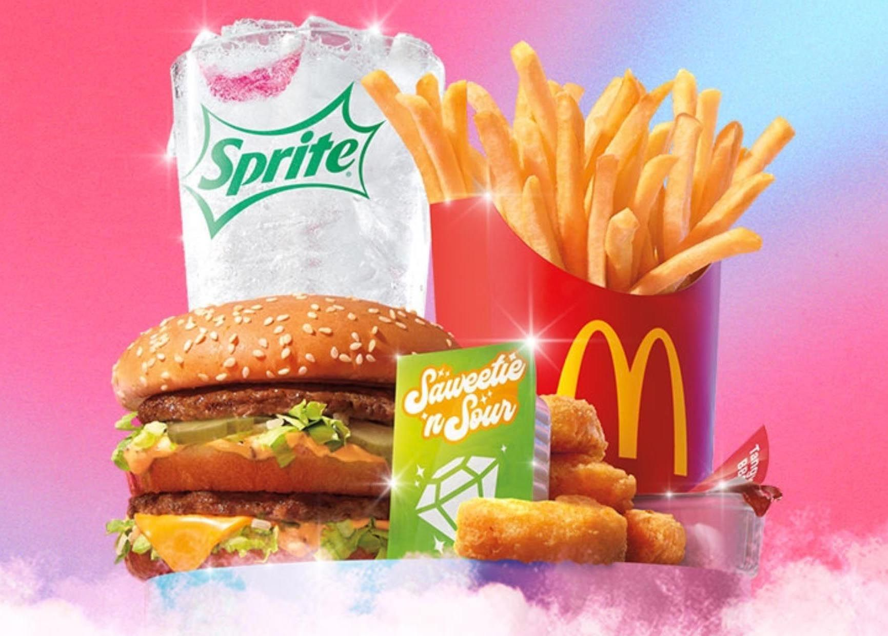 McDonald's Welcomes the New Saweetie Meal for a Limited Time Only