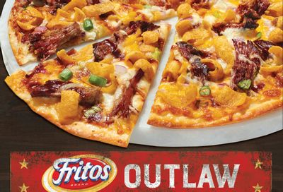 New Crunchy and Cheesy Fritos Outlaw Pizza Lands at Papa Murphy's Through to September 26
