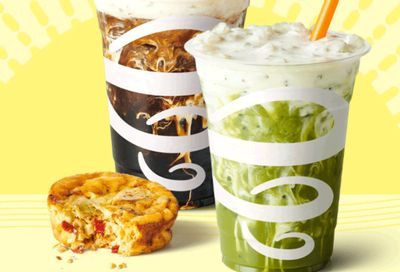 Get a Free Breakfast Item at Jamba When You Buy a Gotcha Matcha or Bold 'n Cold BrewCoffee Twice in a Week (In-app or Online Only)