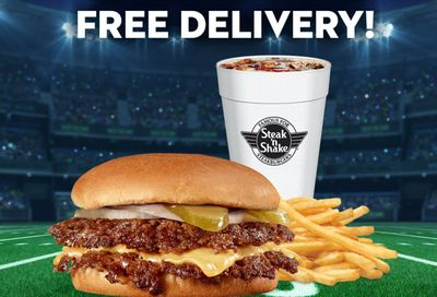 Two Days Only: Get Free Delivery with $10+ In-app or Online Orders this Weekend at Steak 'n Shake