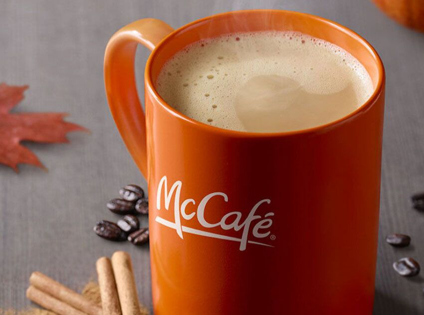McDonald's Welcomes the Fall with the Return of the Pumpkin Spice Latte