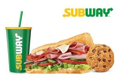 MyWay Rewards Members Can Get a $7.99 Footlong Meal at Subway with an Online Order for a Limited Time
