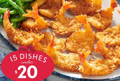 Save With 15 Dishes Under $20 Now Available on the New Red Lobster Menu