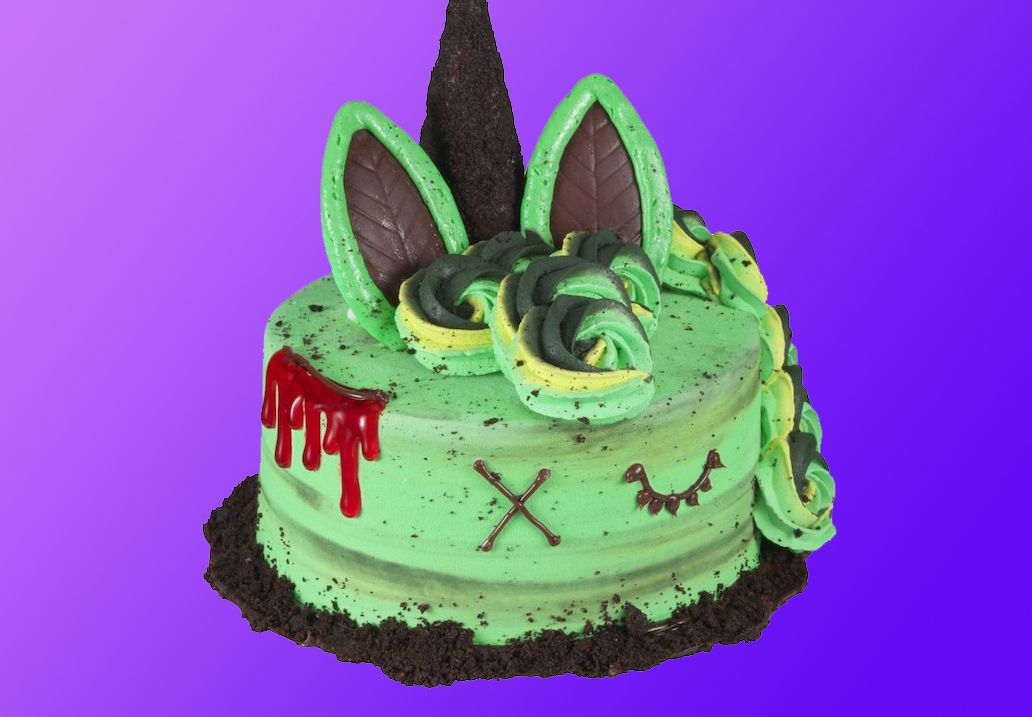 Baskin-Robbins Launches their New Zombie Unicorn Cake for a Limited Time Only