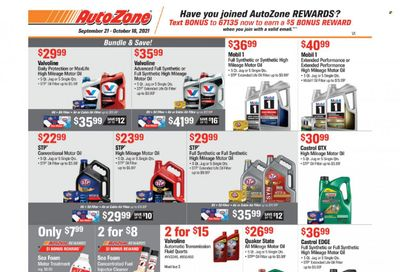 Autozone Weekly Ad Flyer October 13 to October 20