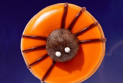 Popular Spider Donuts and the New Peanut Butter Cup Macchiato Arrive at Dunkin' Donuts for Halloween