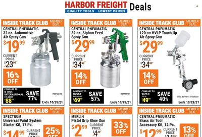 Harbor Freight Weekly Ad Flyer October 19 to October 26
