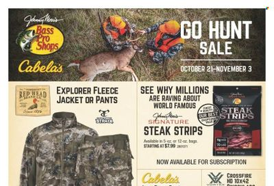 Cabela's Weekly Ad Flyer October 19 to October 26