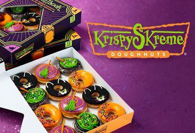 "Spooky Krispy ""Skreme"" Doughnuts Are Now Available at Krispy Kreme Through to Halloween"