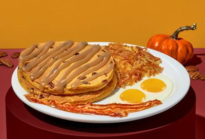 New Pumpkin Pecan Pancakes Debut at Denny's for a Limited Time